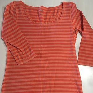 Pink Striped Shirt